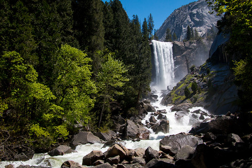 Vernal Falls   by kenfagerdotcom