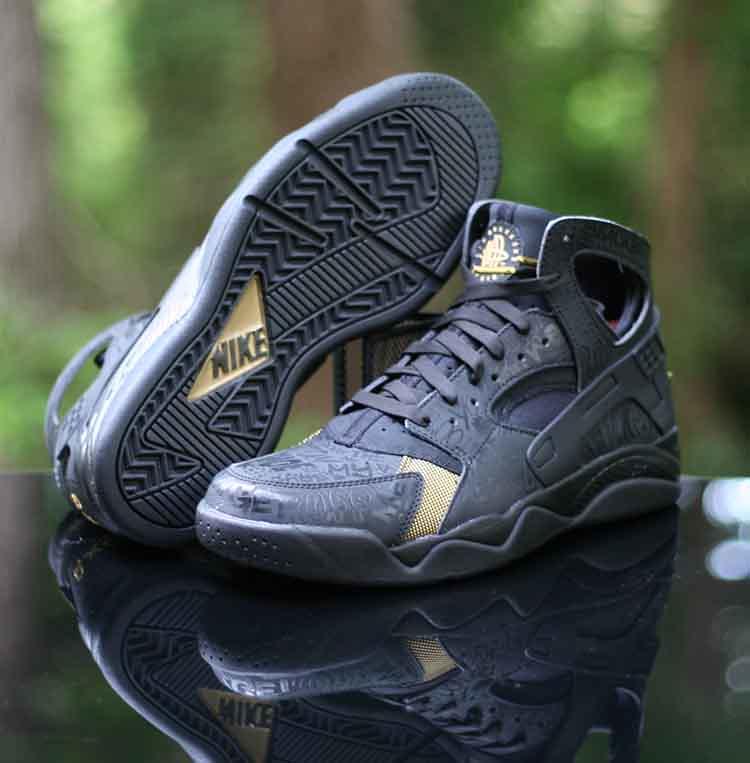 the best attitude b49da c4f29 ... Nike Air Flight Huarache PRM QS Trash Talk Black 686203-002 Size 9.5    by