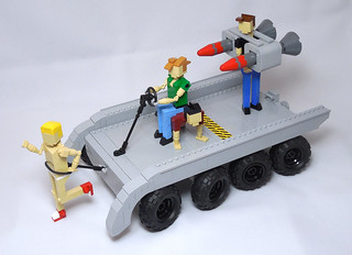 Budget Cuts Mobile Missile Launcher | by vitreolum