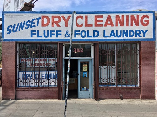 SUNSET DRY CLEANING / FLUFF & FOLD LAUNDRY | by Nick Sherman