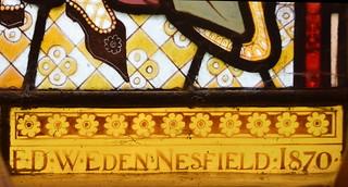 F D W Eden Nesfield 1870