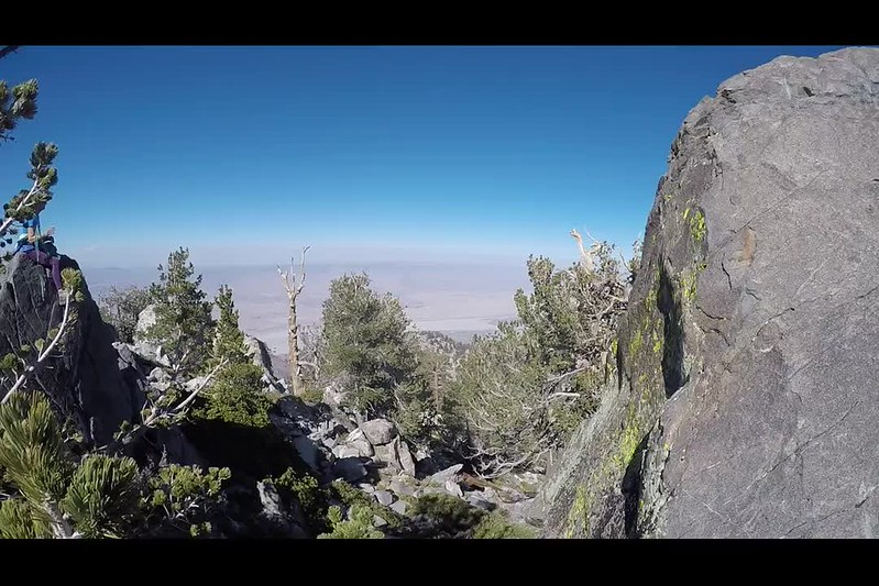 150 GoPro video panorama on the summit of Harvard Peak in the San Jacinto Wilderness