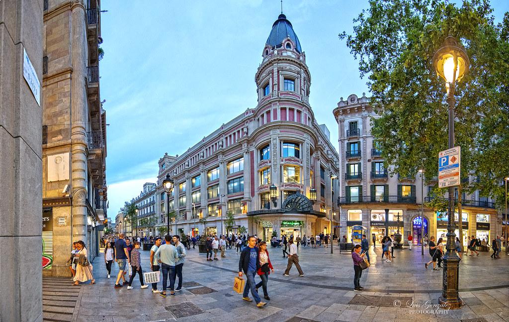 Barcelona: Portal de l´Angel. | Luis González | Flickr