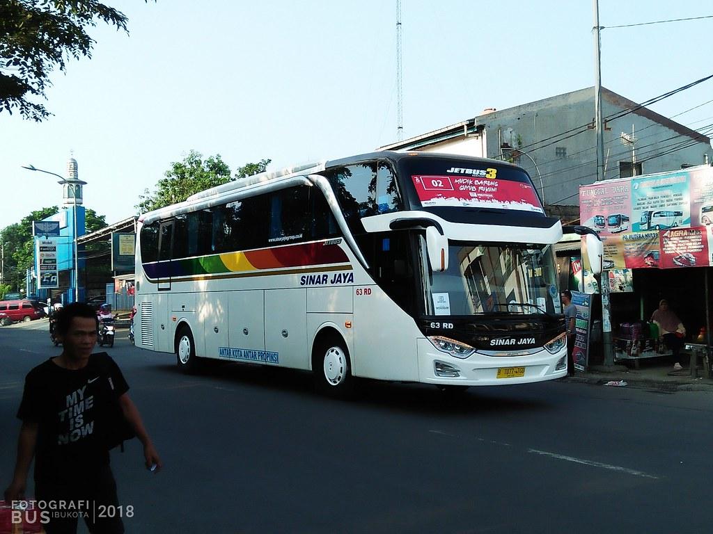 Sinar Jaya 63rd Hino Rk8 Adi Putro Jetbus 3 Shd Fotografer