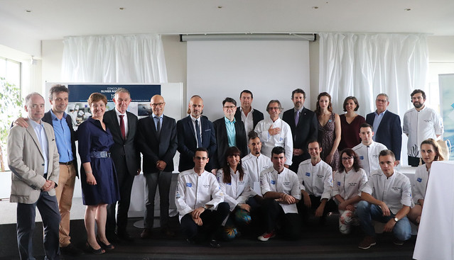 Olivier Roellinger culinary contest: 2018 winners' reception, 8 June 2018