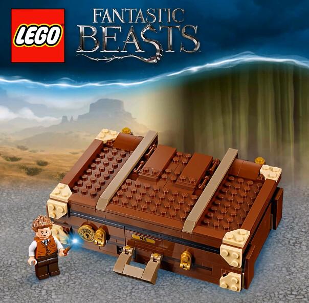 LEGO Newt's Case of Magical Creatures (75952) 4