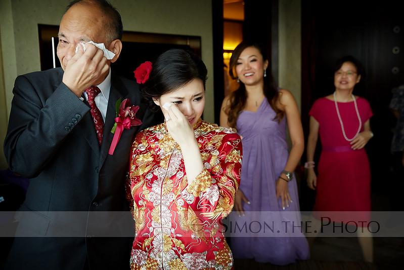 感動位 7/7 係婚禮中,如果有父親跟女兒獨處的時刻,很多時也會很感動。