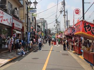 多摩川浅間神社の例大祭