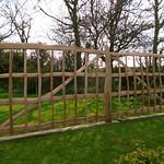 Cleft Oak Rustic Gates