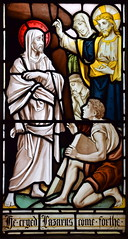 Christ raises Lazarus from the dead (Isaac Alexander Gibbs, 1880s)