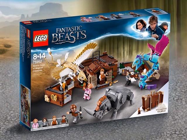 LEGO Newt's Case of Magical Creatures (75952) 1