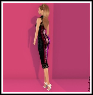 Miss Jones Heels JUMO and Alma Make Up for DS and Luminesse for SWANK | by ariannajasminesl