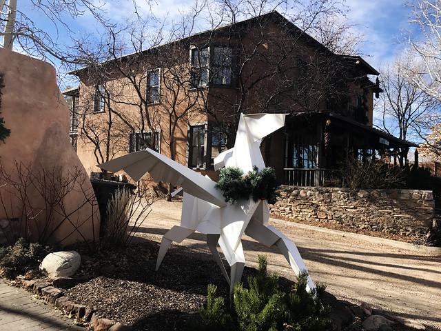 Sculpture at Canyon Road
