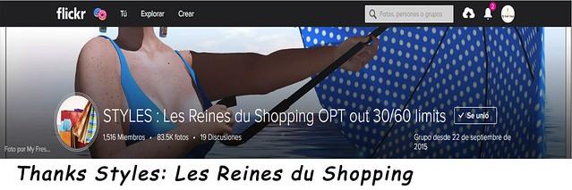 Thanks Styles, Les Reines du Shopping
