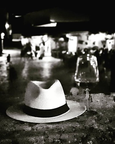 Hat and Wine #blackandwhite #black #bw #sicily #wine #glass #panamahat #white #picoftheday #photooftheday #retro #igers #igersitalia #beccacimmi #beccacimmiwedding | by Mario De Carli
