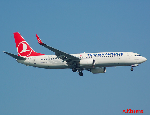 TURKISH A/L B737 TC-JHN