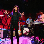 Fri, 15/06/2018 - 2:16pm - Natalie Prass and her band perform live on WFUV Radio from Rockwood Music Hall in New York City, 5/31/18. Hosted by Russ Borris. Photo by Gus Philippas/WFUV