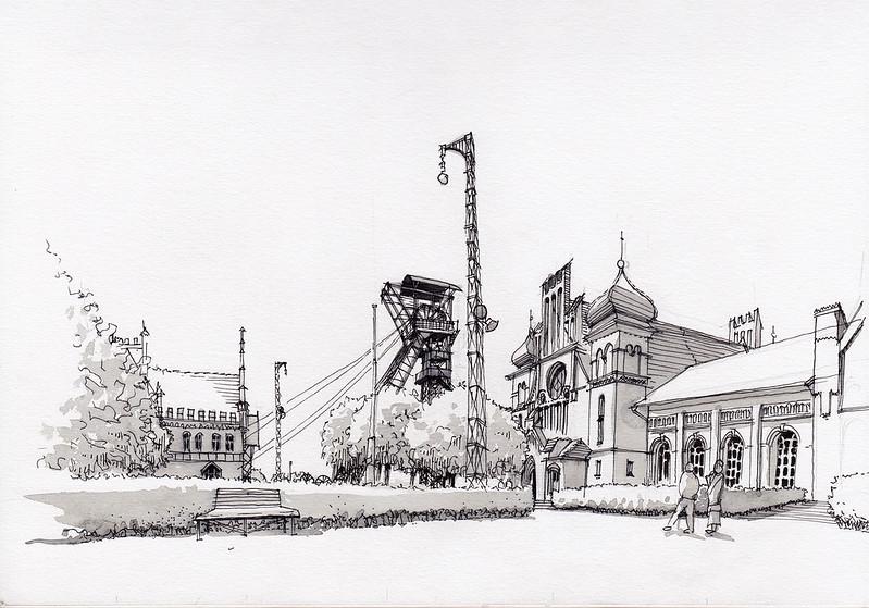 Dortmund, Zeche Zollern / Zollern Colliery