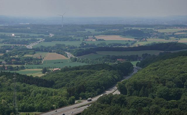 Autobahn A2 / Wesergebirge