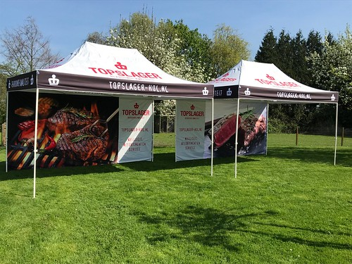Topslager tent | by Quick Folding Tent