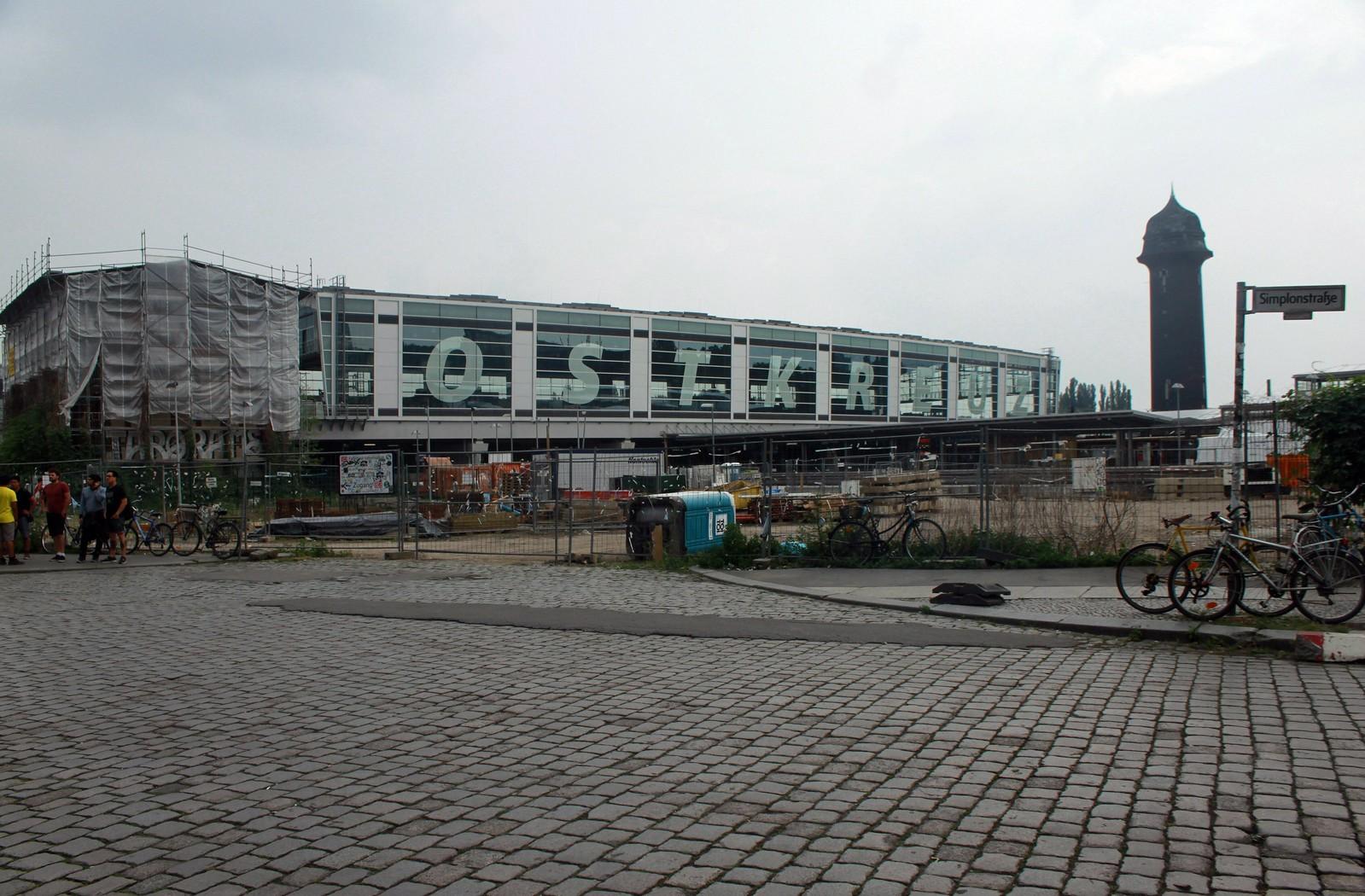 Ostkreuz: Die Ringbahnhalle am Ostkreuz