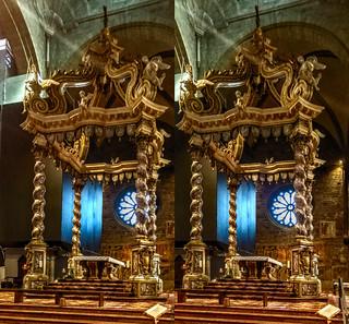 Baroque canopy 3D