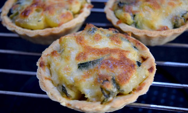 Baked quiche
