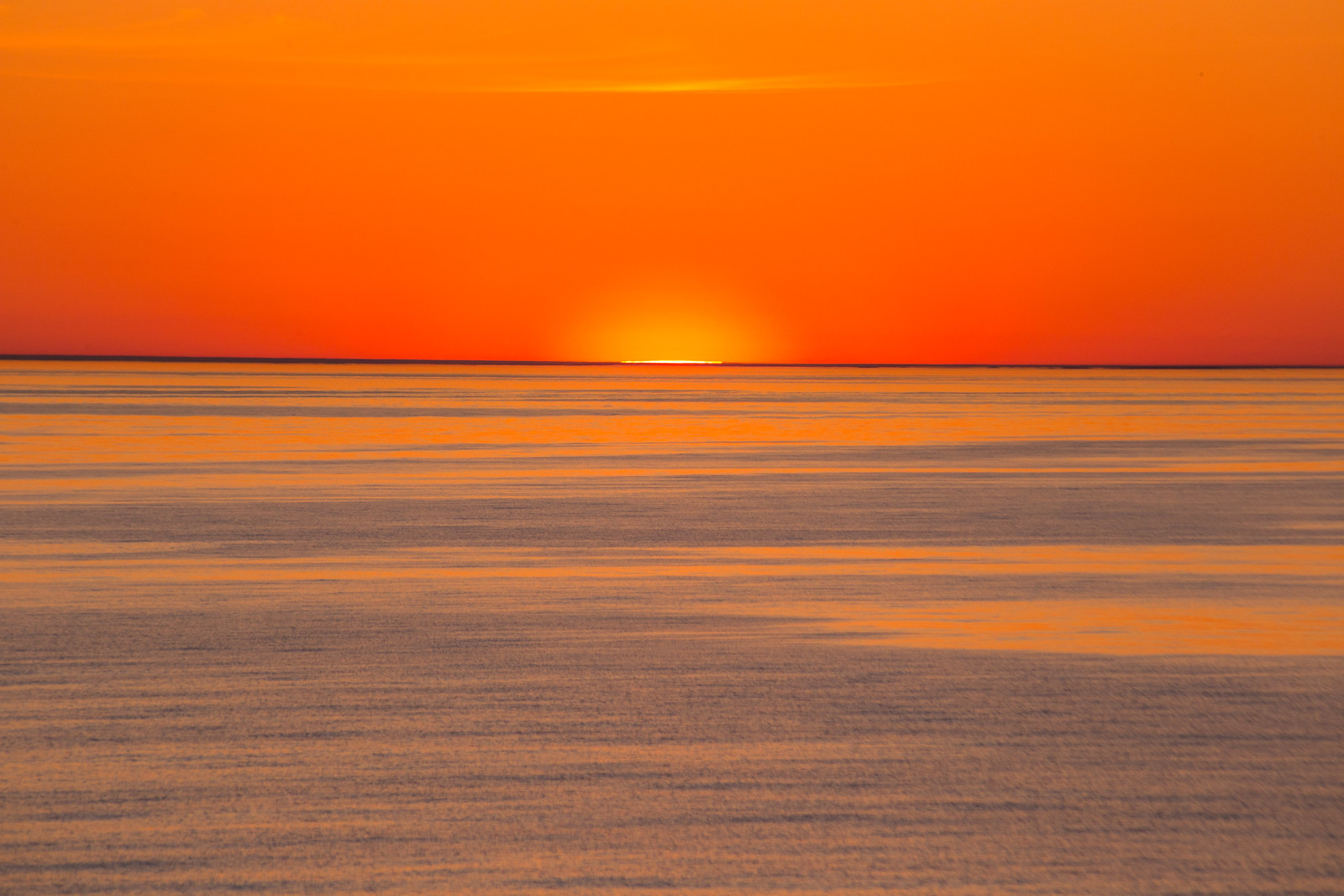 Sunrise in the Baltic Sea #1