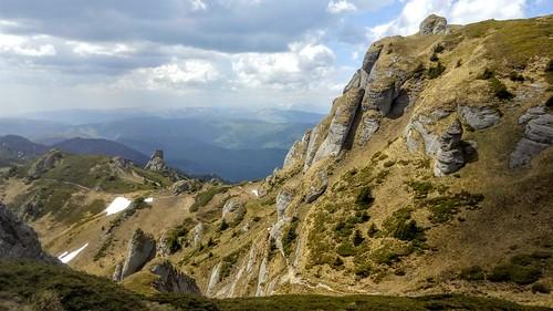 Ciucas Peak on spring | by mergpemunte.ro