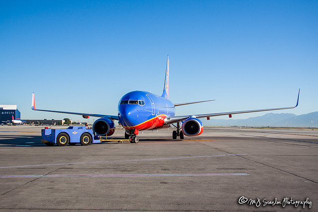 N712SW Southwest Airlines | Boeing 737-7H4(WL) | Salt Lake City International Airport