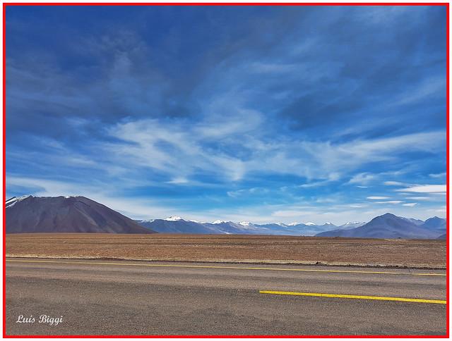 Ruta CH-23, Callejon de Barrales, Chile