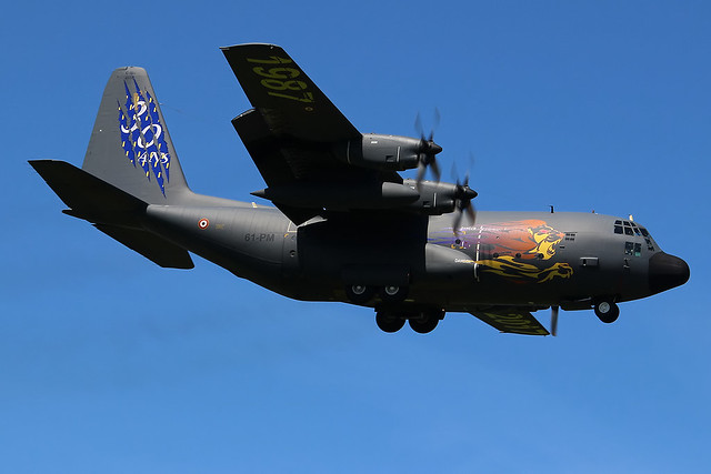 Lockheed Martin C-130H Hercules French - Air Force 61-PM