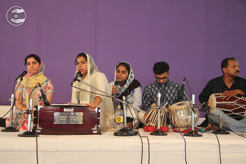 Devotional song by Shrishti and Saathi from Lajwanti Garden, Delhi