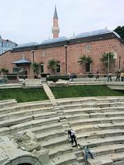 Джамията и античният стадион в Пловдив