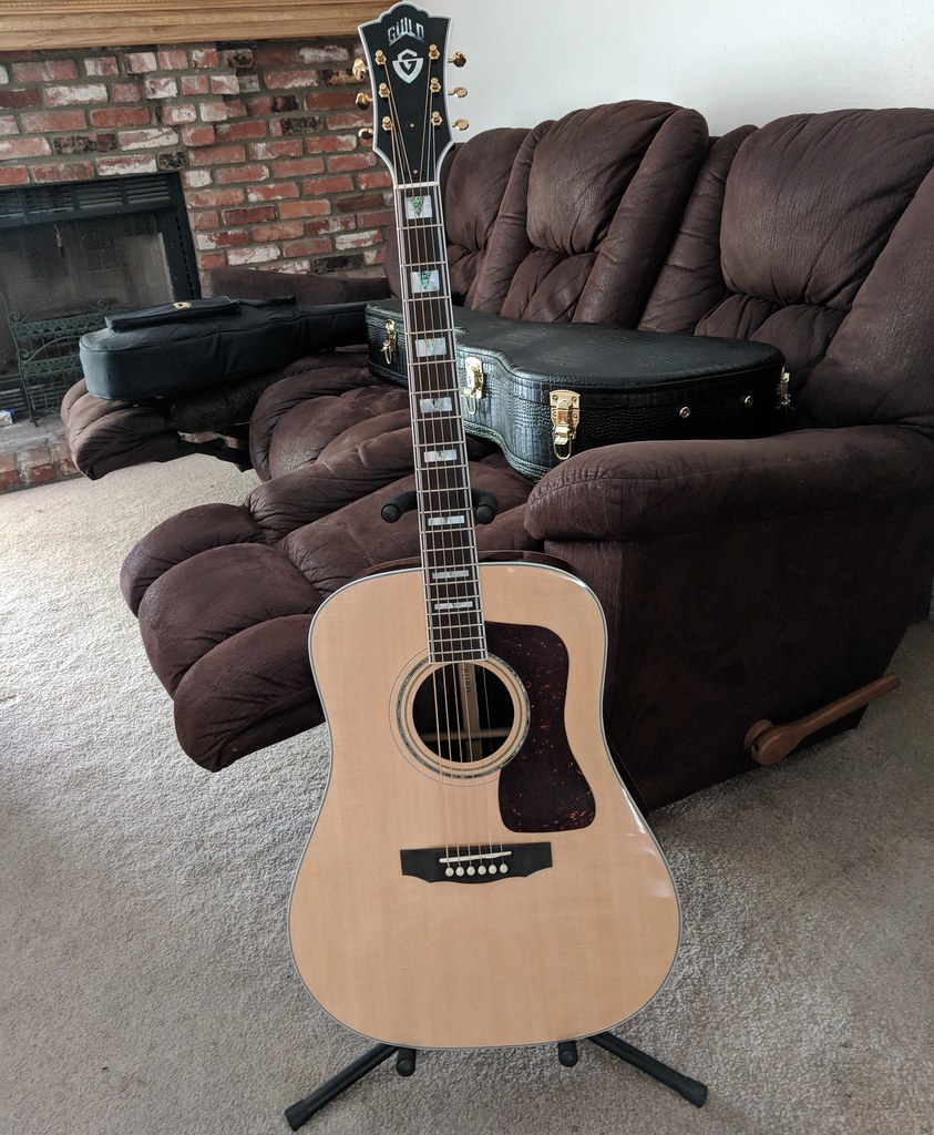 2018 Guild D55  Made in May of this year in Oxnard Califor