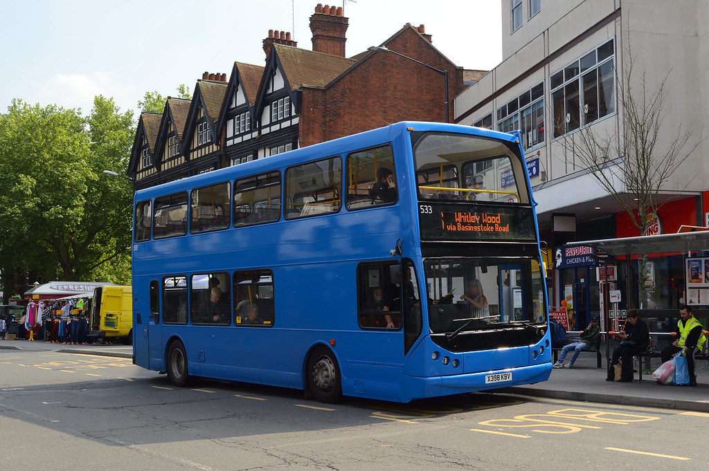 Reading Buses 533 X398kbv On Route 6 Hassaanhc Flickr