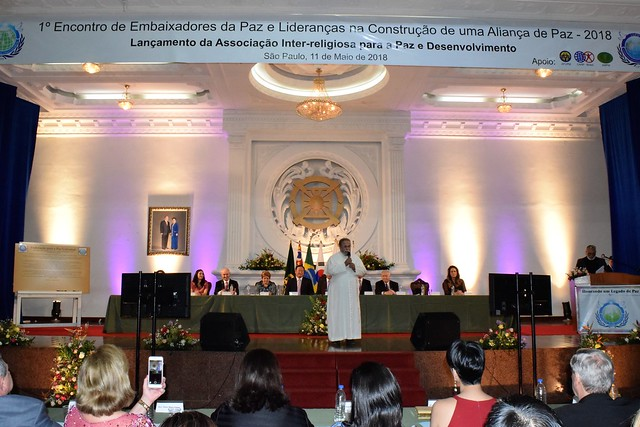 Brazil-2018-05-11-Interreligious Association for Peace and Development Inaugurated in Brazil