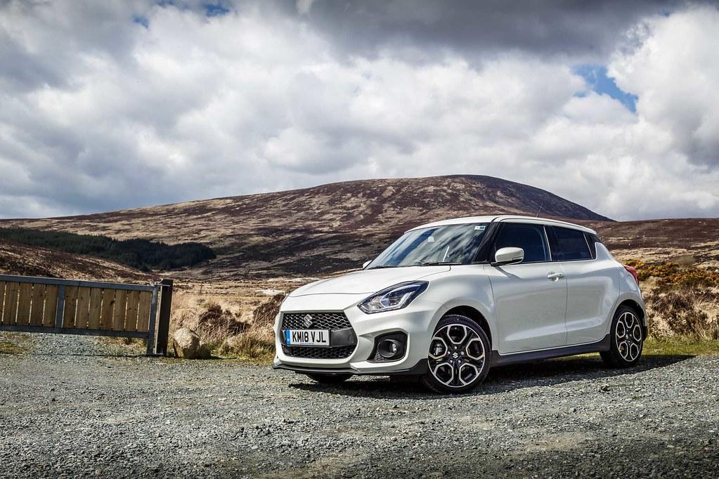 White Suzuki Swift Sport In Ireland Free Car Picture - Giv… | Flickr