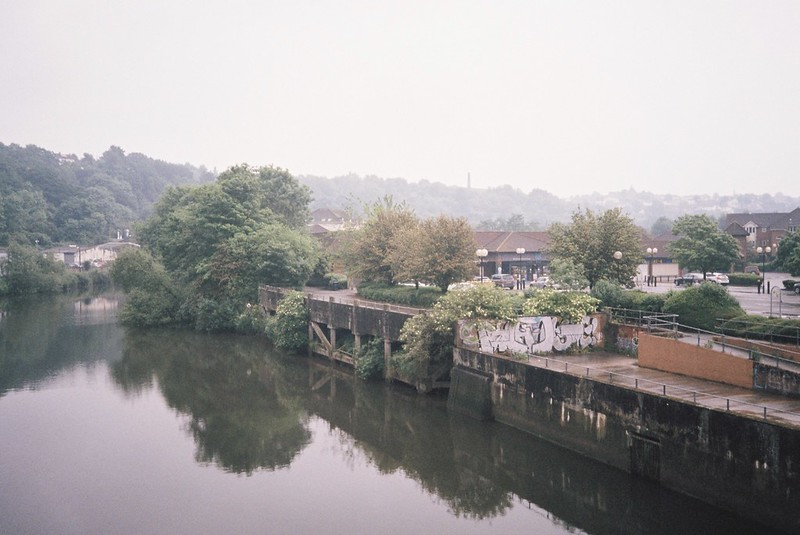 Hazy Avon, from the St Anne's footbridge