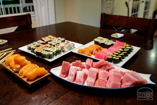 Homemade Sushi Party w/ Chūtoro