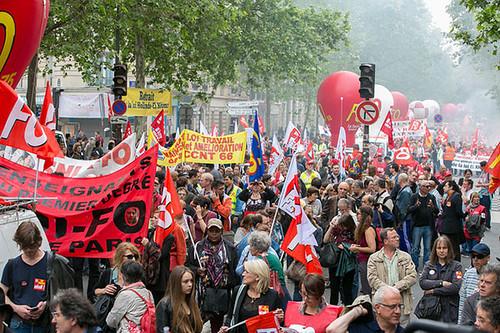 圖06.連工會運動最強大的法國也陷入低薪化陷阱