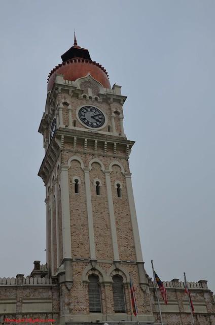 Sultan Abdul Samad Building Clock Tower, Kuala Lumpur, Malaysia