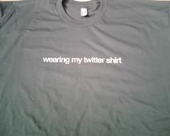 Twitter shirt | by niallkennedy