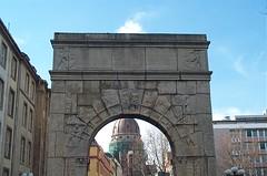 Christ Church through an Arch...