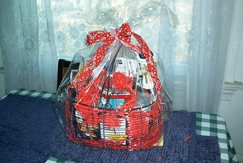 Stephen's Moving Out Gift Basket #2