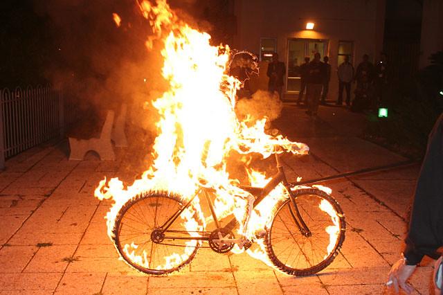 Burning Man at Kinnernet
