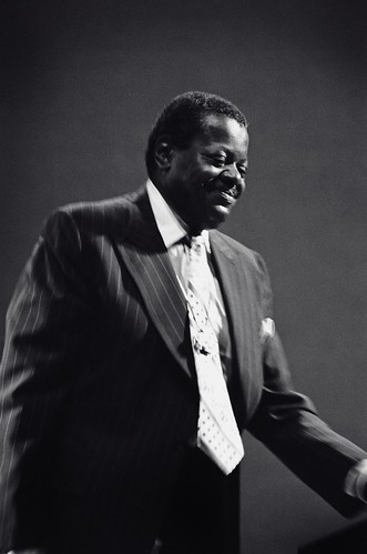 Oscar Peterson | by Tom Marcello