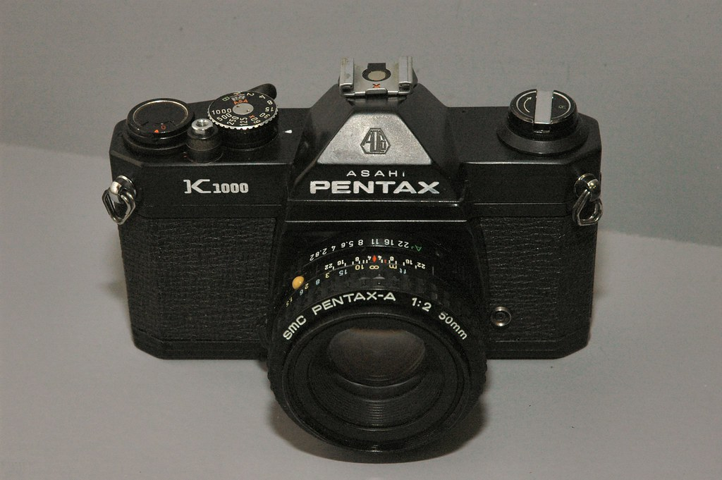 Pentax K1000 Black Body | This is my custom painted K1000 wi… | Flickr