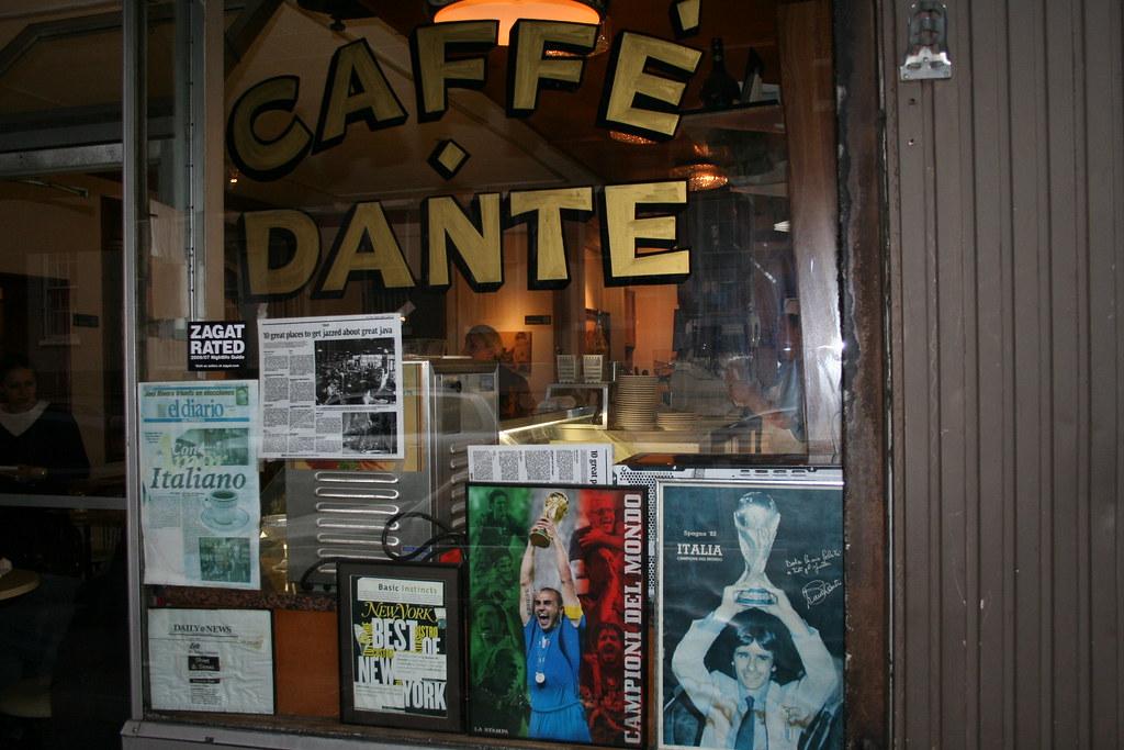 Caffe Dante - New York   Francesco   Flickr