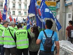 Manifestación por la jubilación. Madrid (23/5/2018)Manifestación por la jubilación. Madrid (23/5/2018)